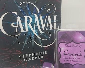 Caraval- Caraval Series- Soy Vegan Wax Melts/Tarts