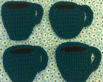 Crochet  Coffee Mug Coasters