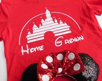 Disney Home Grown Ladies Crew Tee!
