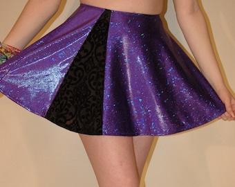 Hippie Festival Skirt with Hidden Pocket