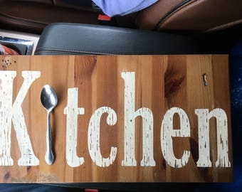 Custom Farmhouse kitchen sign