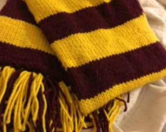 Custom Harry Potter Scarves (All Four Houses offered)