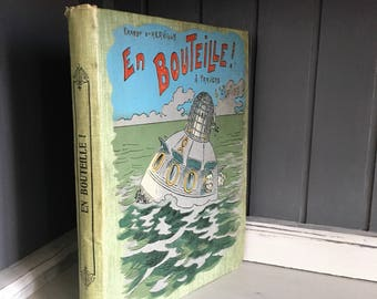 Rare Antique French Children's Book.  Early 1900s. Ernest D'Hervilly. French Library, French Decor