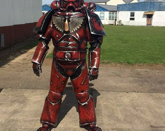 3 x Professionally Made Warhammer Themed Cosplay Costumes