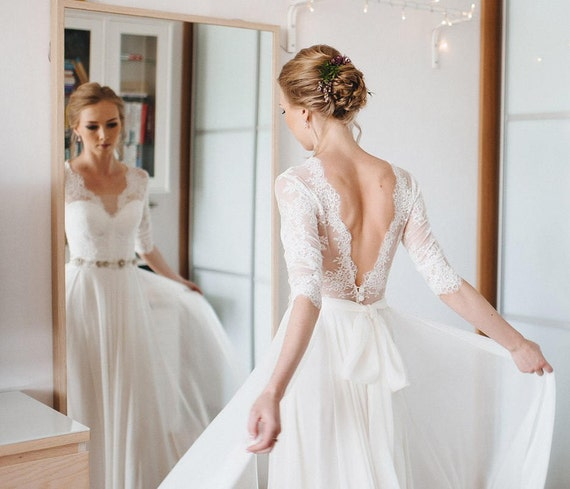A-line dress wedding dress pictures
