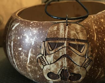 Storm Trooper White/Lighter Coconut shell