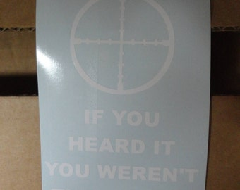 Funny decal: Target