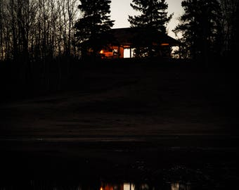 House in the Woods Photo Print