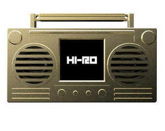 HI-RO Bluetooth Boombox Portable Wearable Speaker