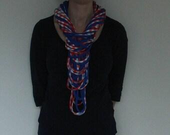 t-shirt yarn scarf/necklace