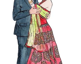 illustration: events portraiture