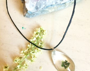 Plant Bud Necklace