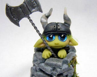 "OOAK Labyrinth Goblin Tower Guard Trollfling Troll ""Joby"" by Amber Matthies"