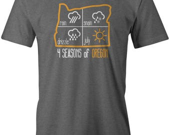 4 Seasons of Oregon T-shirt