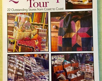 QUILT SHOP TOUR Quilting Book Patterns Leisure Arts Better Homes & Gardens