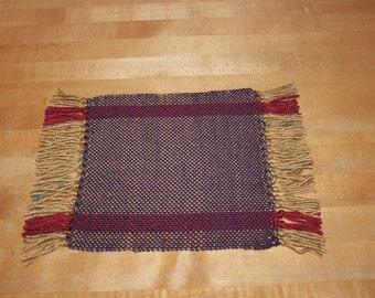 Handwoven Table/Dresser Mat