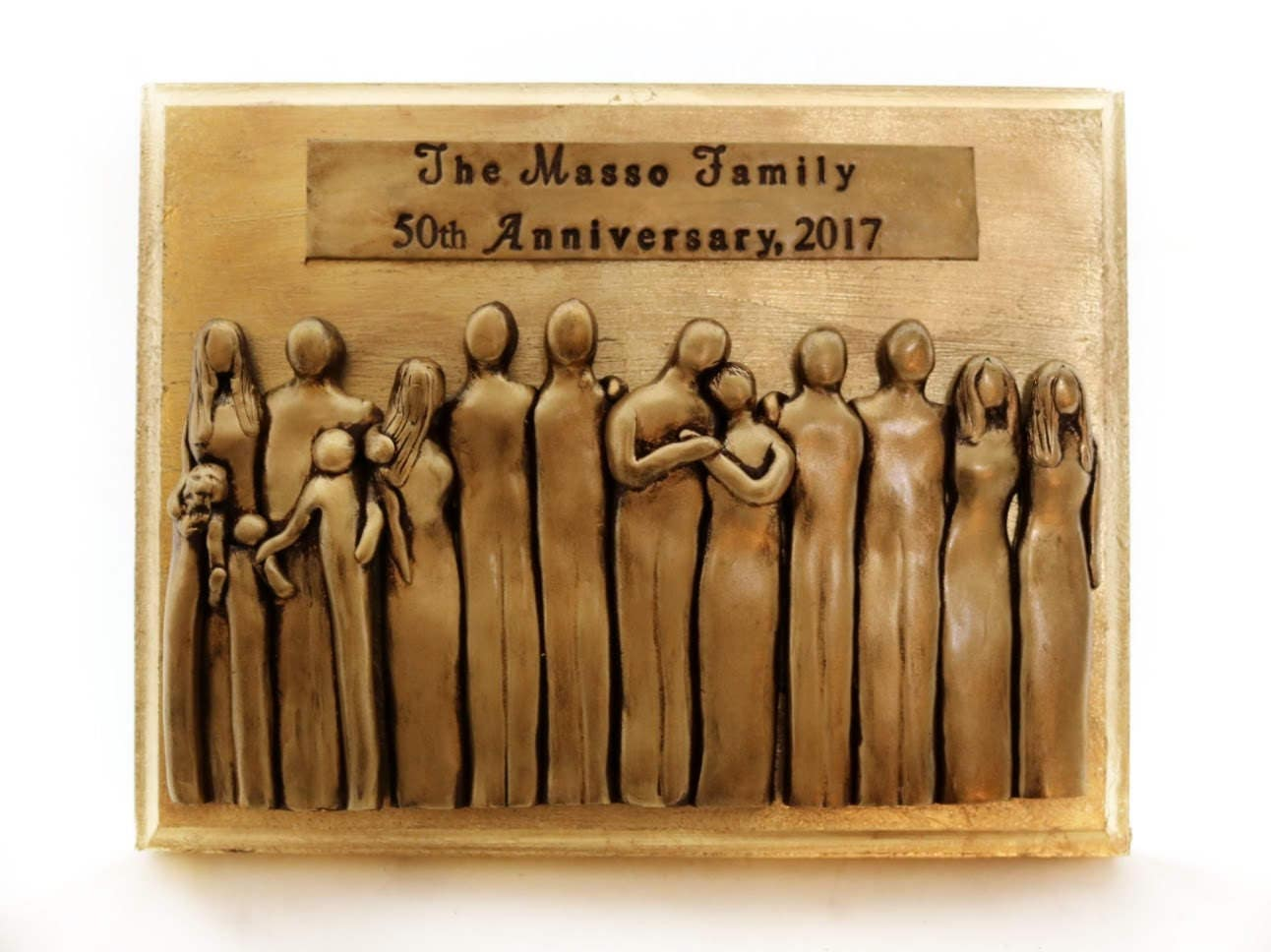 Gifts For Fiftieth Wedding Anniversary: 50th Anniversary Plaque 50th Anniversary Gifts For Him 50th