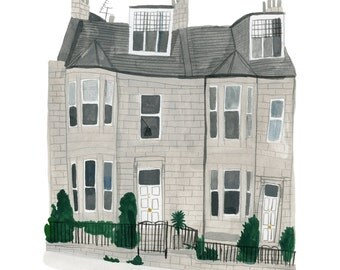 Edinburgh print 8x10