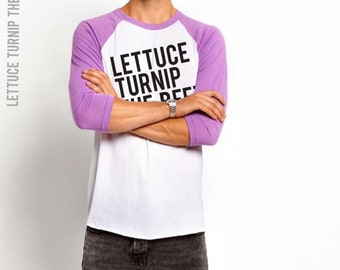 lettuce turnip the beet ® trademark brand OFFICIAL SITE - violet baseball jersey - lightweight fashion shirt