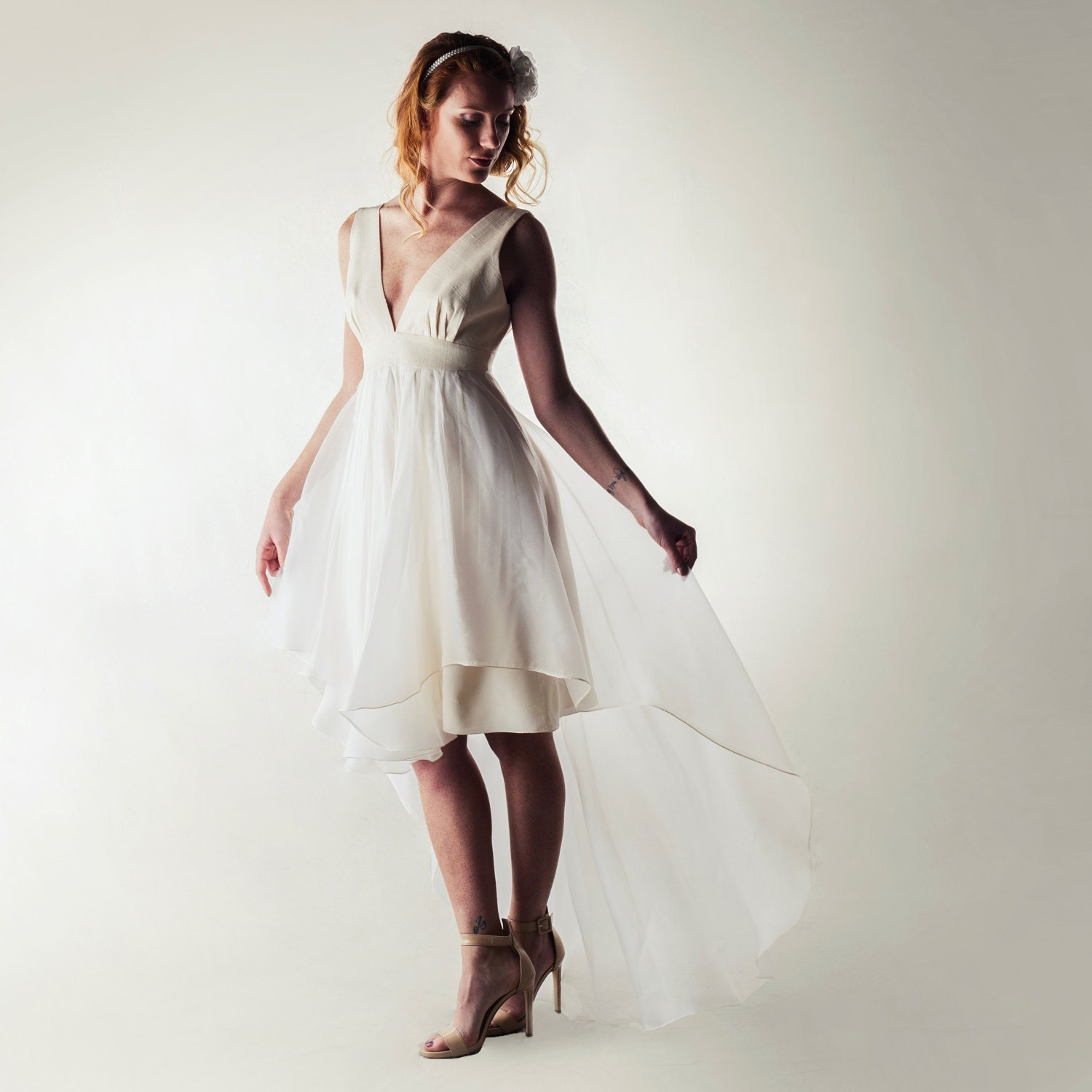 9efed50966d9 22 Short but Stunning Wedding Dresses | Stay At Home Mum