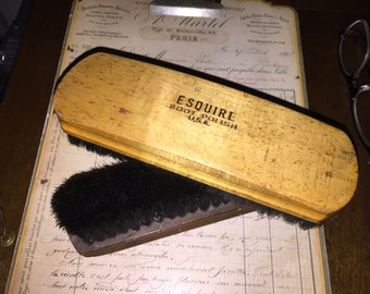 Esquire Boot and Clothes Brushes