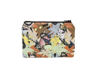 Where the Wild Things Are Pouch / Small Zipper Bag / Cute Camera Bag / Lunch Money / Back to School