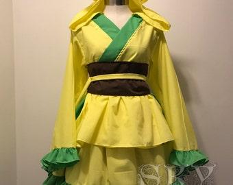 Leafeon Kimono Dress