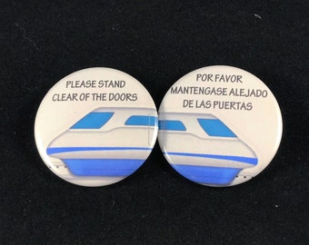 Disney Inspired Monorail - Button, Magnet, or Pocket Mirror