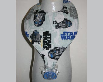 "Baby Bibs, Pacifier Bibs, Bibs with Pacifier, Bibs, Pacifier, "" Star Wars"""