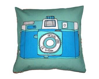 Holga Camera Cushion // Retro Camera Pillow