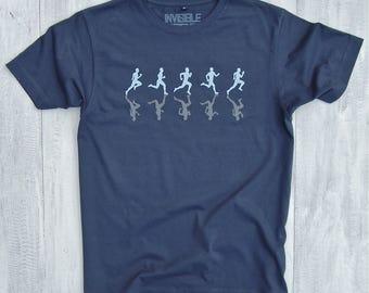 Reflective Runners T-shirt - running t-shirt - runner tshirt - mens t-shirts - gifts for runners - gifts for him - Valentines - t-shirt