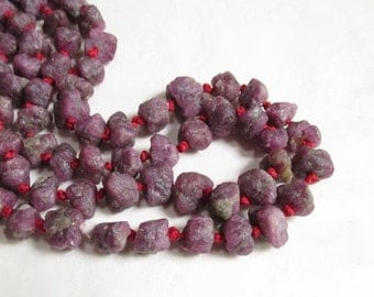 ALL Pink Tourmaline Raw Nugget Beads, Hammered Nuggets Beads