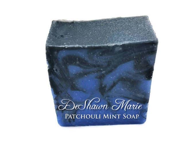 Patchouli Mint Activated Charcoal Soap