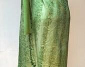 Theory cashmere sweater dress small handpainted pongee silk pareo