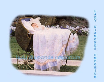 Martha Pullen Grandmother's Hope Chest Babys Smocking  Christening Gowns Bubbles Day Gowns and More Sewing Pattern Uncut