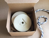 "Medium Ceramic Fermentation Weights - Pickling Weights Set - 2.25"" diameter"