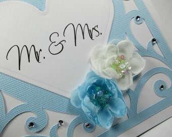 Wedding cards, wedding day cards, Mr & Mrs, Congratulations, bride and groom, elegant wedding cards, hearts