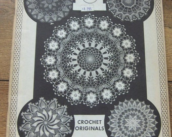 Vintage 1964 Crochet patterns Designs Elizabeth Hiddleson Volume 11