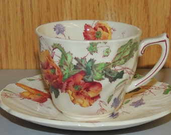 ROYAL DOULTON Demitasse Cup and Saucer Set