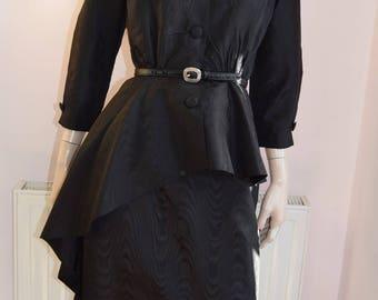 Fabulous Avant Garde Peplum Suit