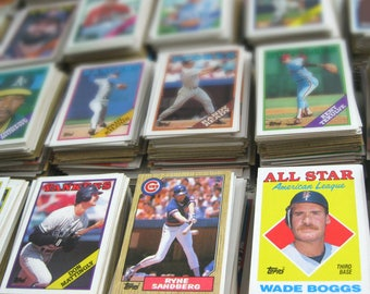 Vintage Baseball Cards, Personalized Gift, Custom Christmas Gift for Men, Man Cave, Set of 30, CHOOSE YOUR TEAM, Astros, Cubs, Yankees, More
