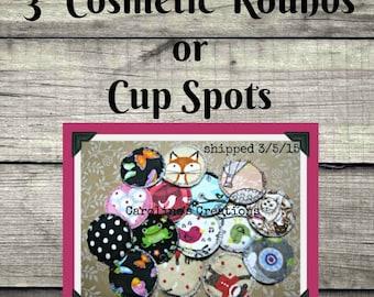 """3"""" Cosmetic Round/Scrubbie/Cup Spot"""