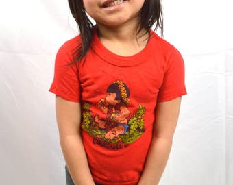 KIDS SIZE Hawaii Tee Shirt -- Size 4