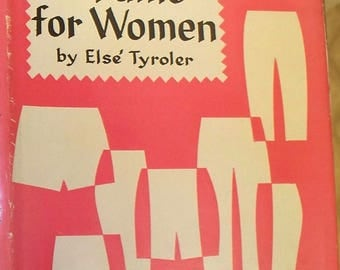 sewing pants for women by else tyroler vintage book