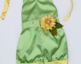 Frog Princess Playday Romper (Baby sizes 3 Months - 8)