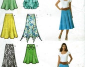 Simplicity Pattern #2449 to make Misses Pull On Skirts in two lengths. Sizes: 6-14. Uncut.