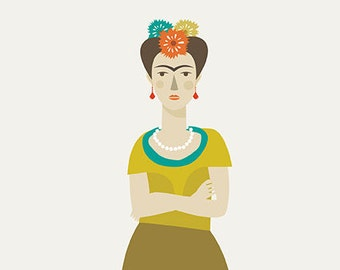 Frida Print -  Different Sizes