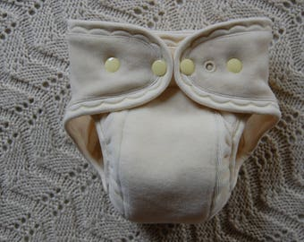 Made to order ~natural organic cotton cloth diaper