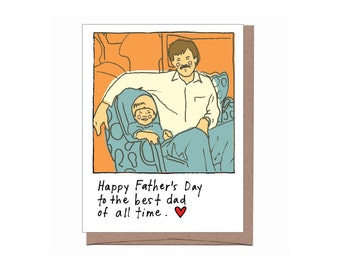 Best of All Time Father's Day Card