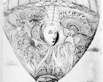 Birth - Original Etching